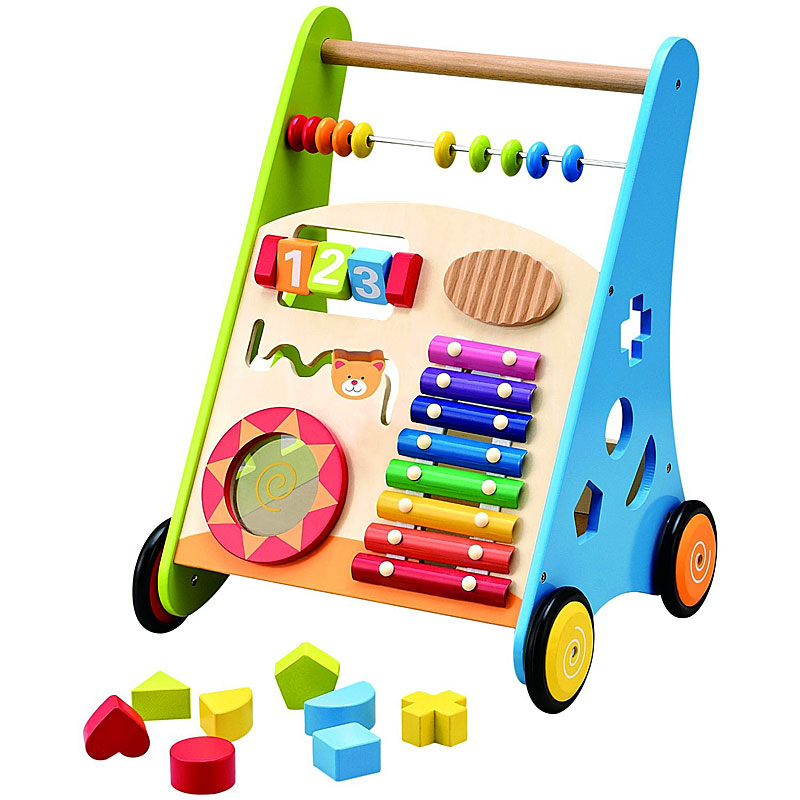 Wooden Toys Wooden Baby Walker